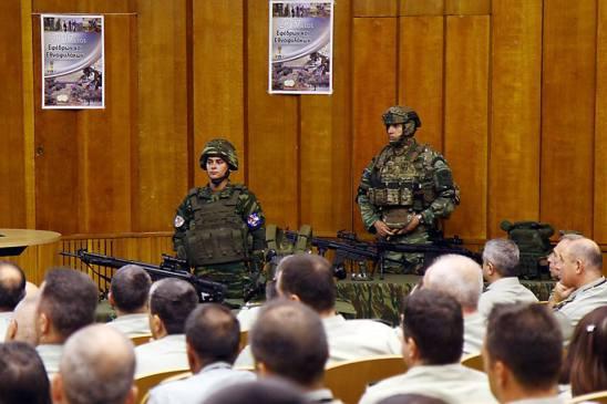Παρουσίαση στο ΓΕΣ Προτάσεων για την Αναβάθμιση του Εξοπλισμού των Εθνοφυλάκων