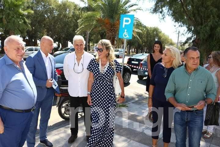 Επίσκεψη του Δήμαρχου Οδυσσού στην Ραφήνα