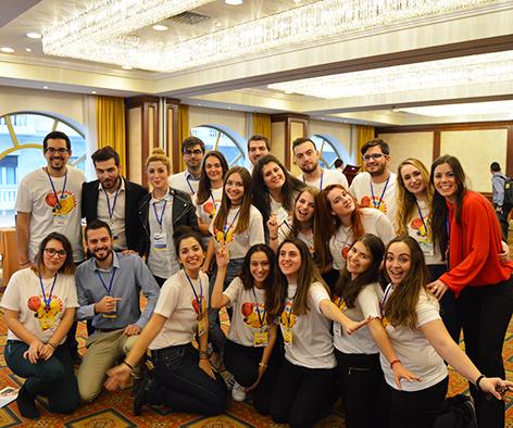 Γίνε εθελοντής στην IUF : Διεθνής Έκθεση Πανεπιστημίων