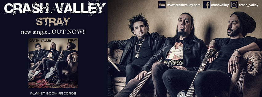 "CRASH VALLEY – ""Stray"" νέο single…. + video!"