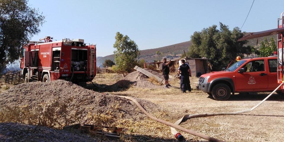Πυροσβεστικό Σώμα Εθελοντών Ν. Βουτζά Όλα τα εθελοντικά οχήματα στην φωτια στον Μαραθώνα