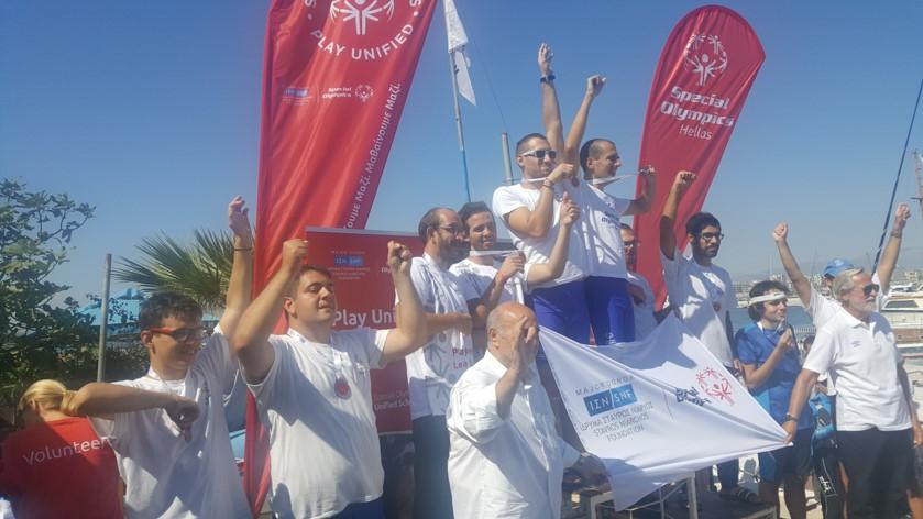Συμμετοχή Αθλητών Special Olympics Π.Ε. Εύβοιας σε Ενταξιακή Αθλητική Ημερίδα Καγιάκ στη Μαρίνα Φλοίσβου