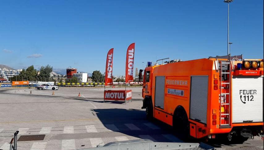 Πυροσβεστικό Σώμα Εθελοντών Ν. Βουτζά -Προβαλίνθου συμμετέχει ενεργά στους αγώνες Drift