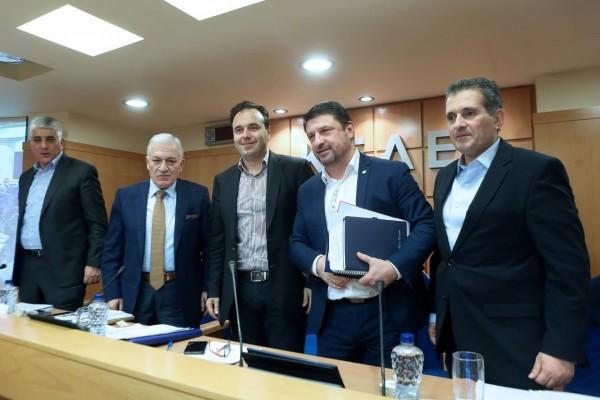 Ο Γενικός Γραμματέας Πολιτικής Προστασίας, Νίκος Χαρδαλιάς, παρουσίασε στη σημερινή συνεδρίαση του Διοικητικού Συμβουλίου της ΚΕΔΕ, το νέο σχέδιο νόμου του Υπουργείου Προστασίας του Πολίτη