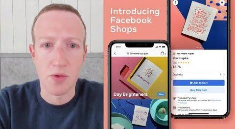 """Με διαδικτυακή ανάρτησή του ο Mark Zuckerberg παρουσίασε τα """"Καταστήματα Facebook"""" (Facebook Shops)"""